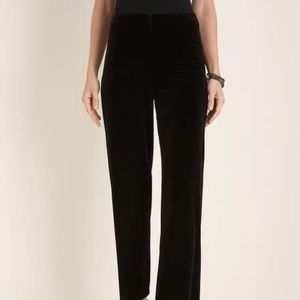 Travelers Collection by Chico's velvet pants